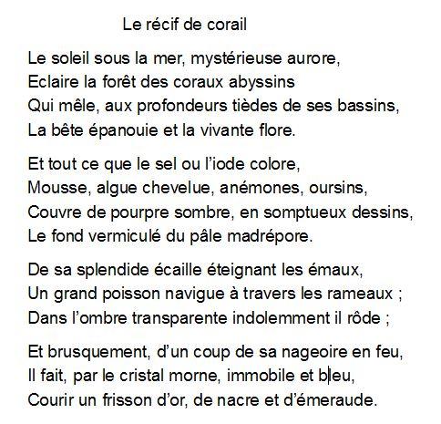 poeme en alexandrin