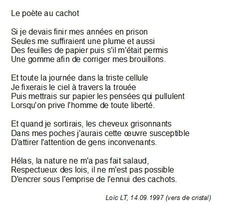 poeme en sonnet