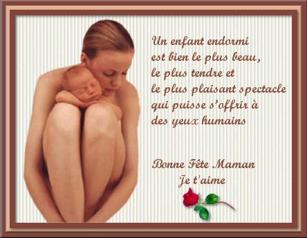 poeme etre maman