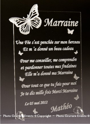 poeme etre marraine