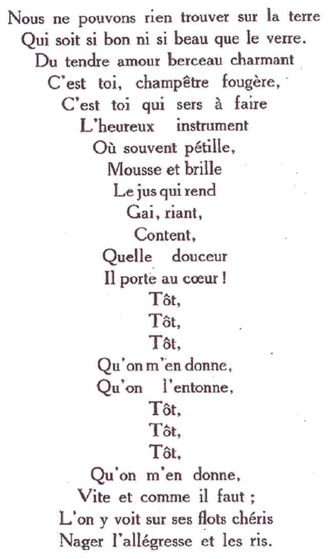 poeme forme