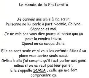 poeme fraternite