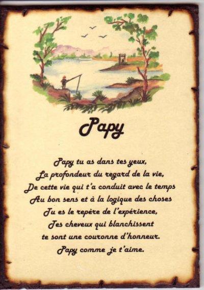 Poeme Grand Pere