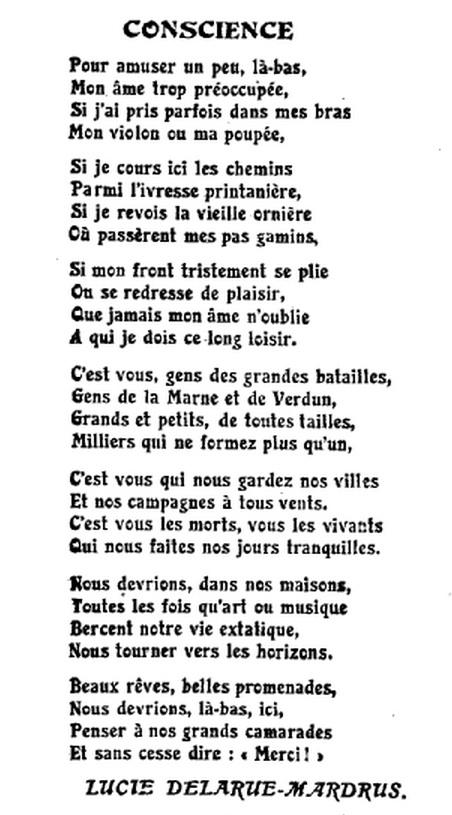poeme guerre 18eme siecle