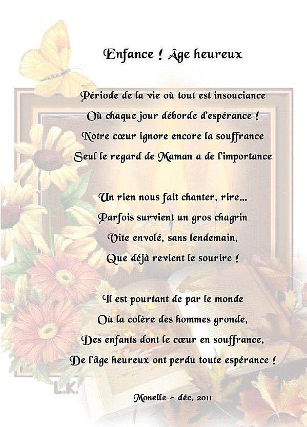 poeme heureux