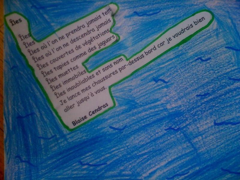 poeme iles de blaise cendrars