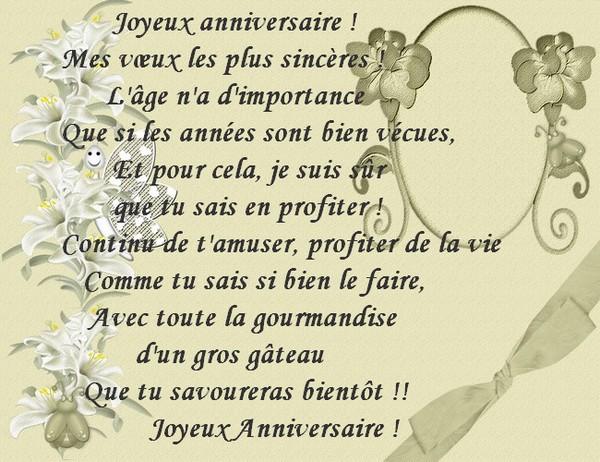 poeme joyeux anniversaire