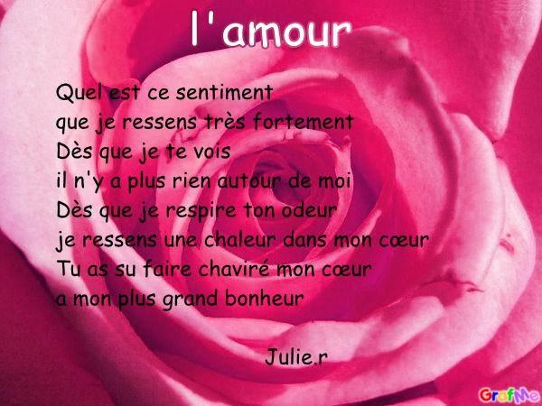 poeme l'amour