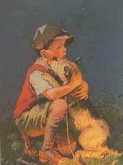poeme l'homme et le chien