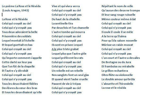 poeme lyrique 3eme