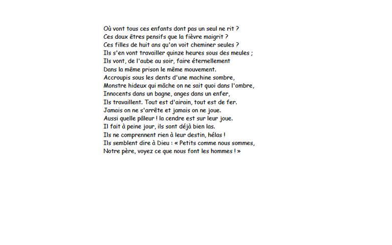 poeme melancholia