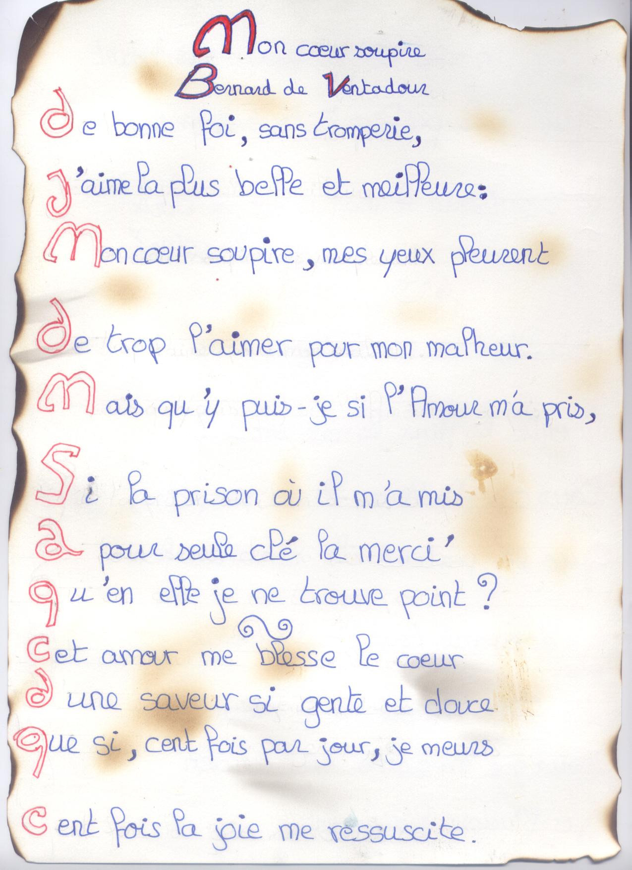 poeme moyen age