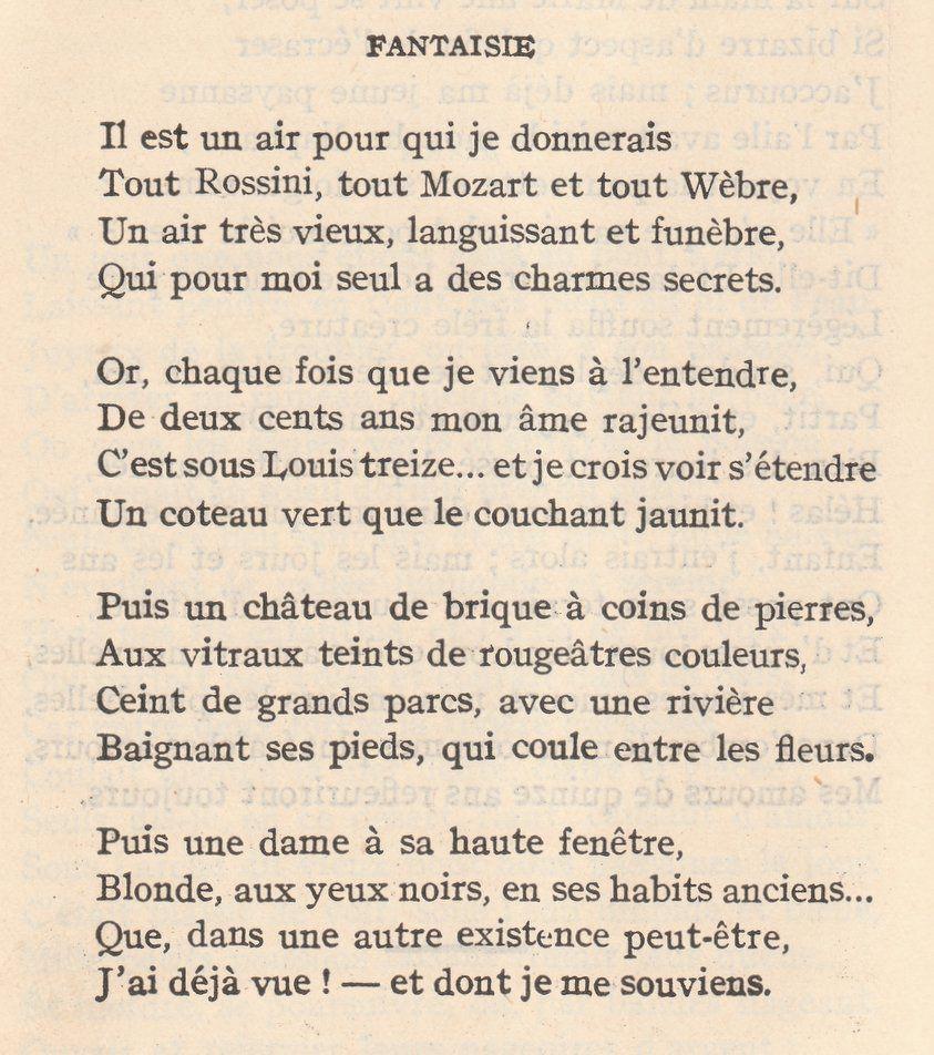 poeme nerval