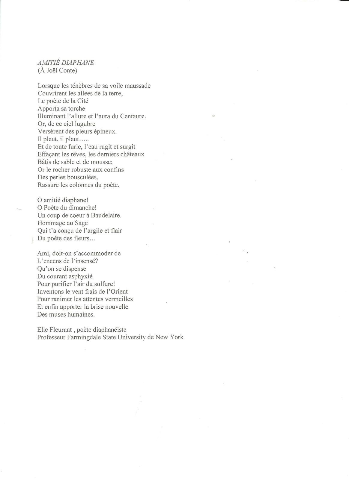 poeme new york