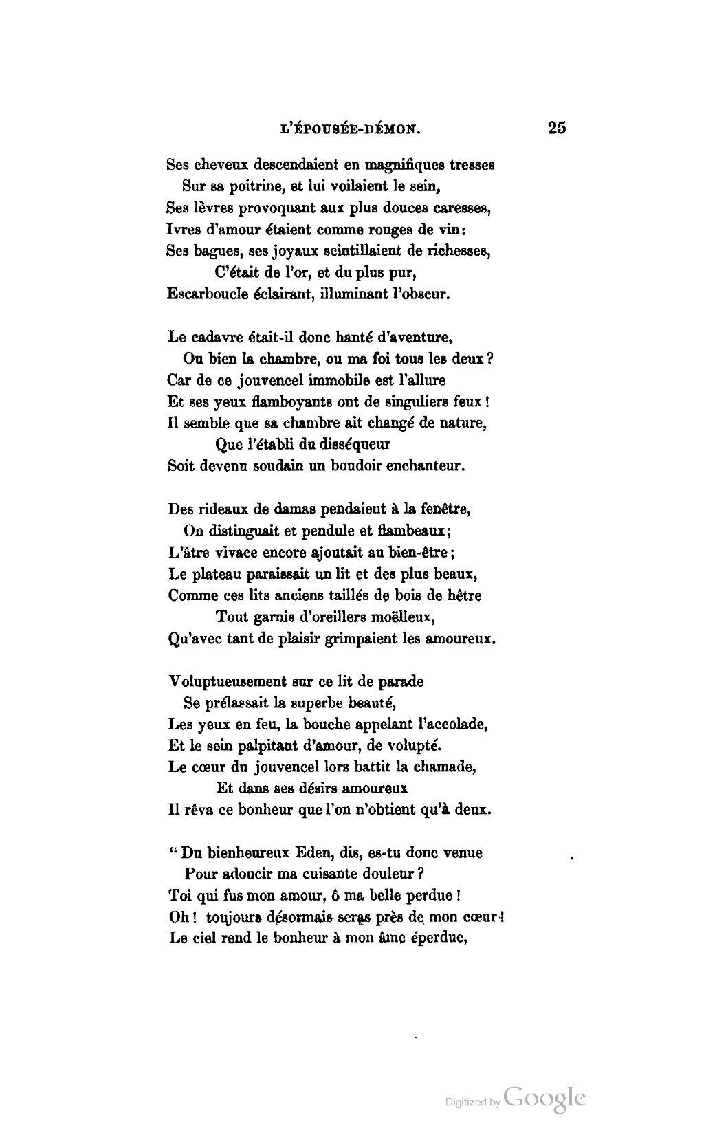 poeme o douleur de l'amour