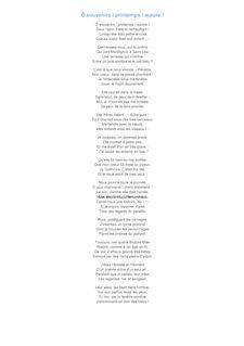 poeme o souvenir de victor hugo