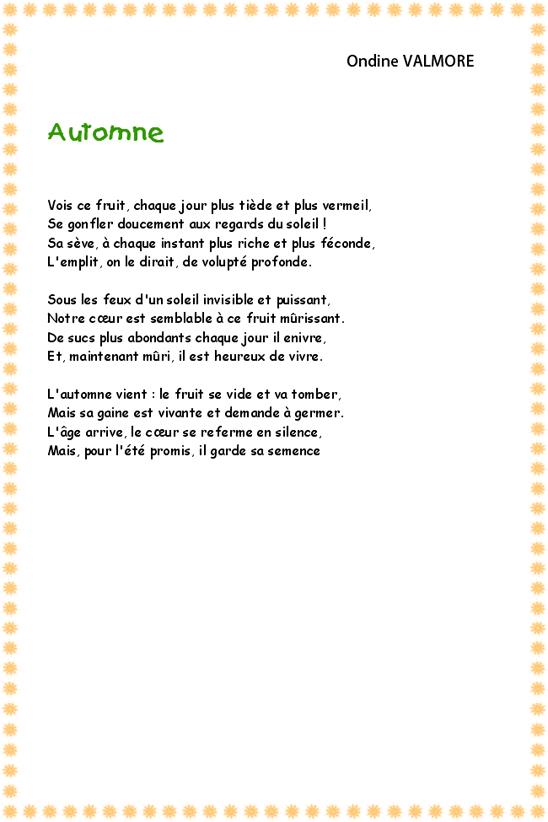 poeme ondine