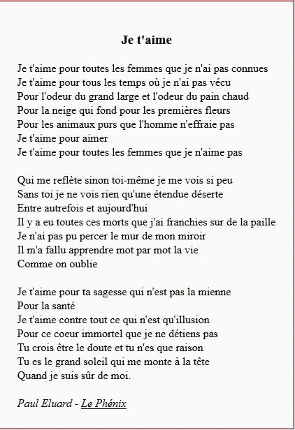 Poeme P Eluard