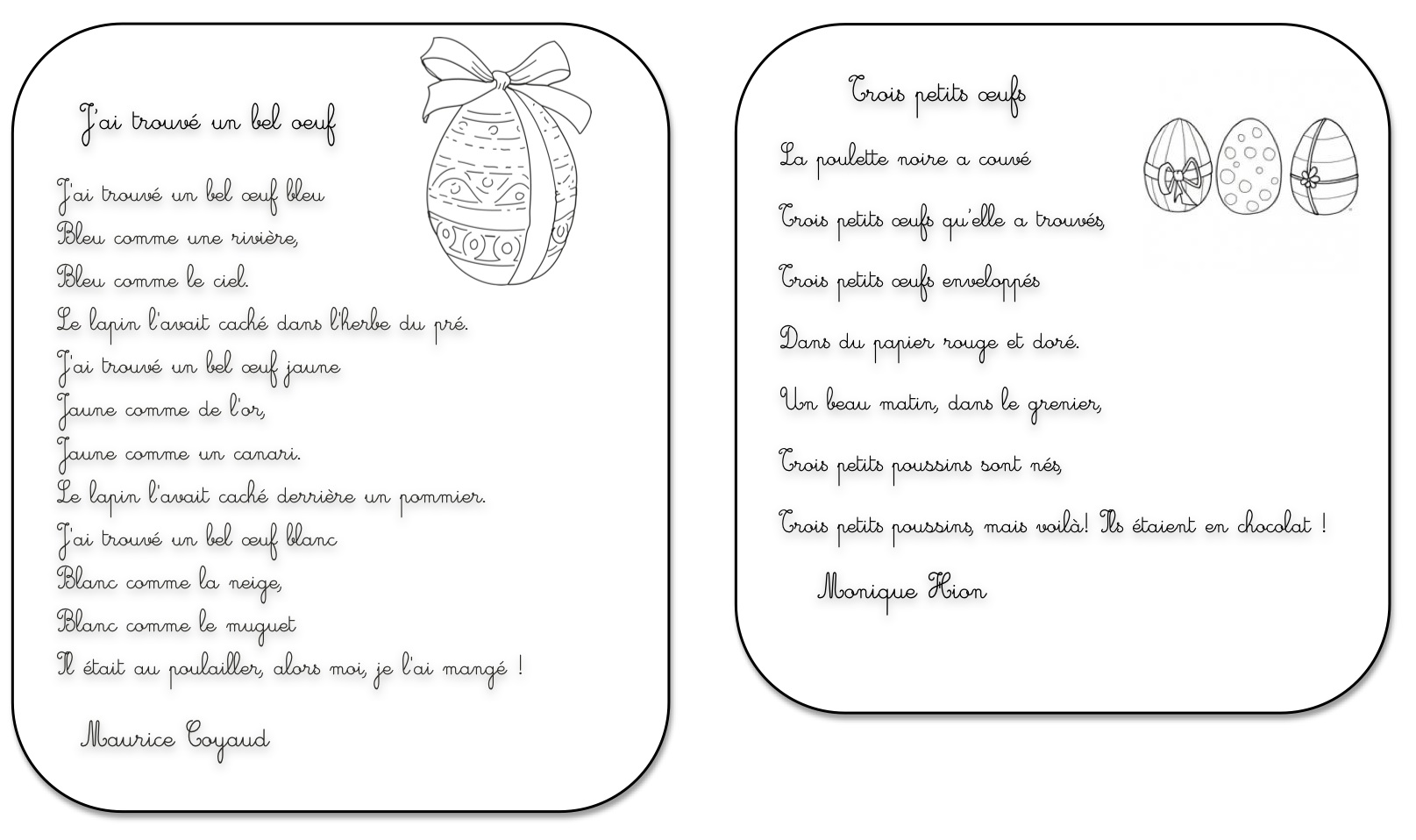 poeme paques