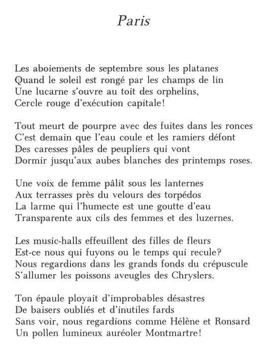 poeme paris