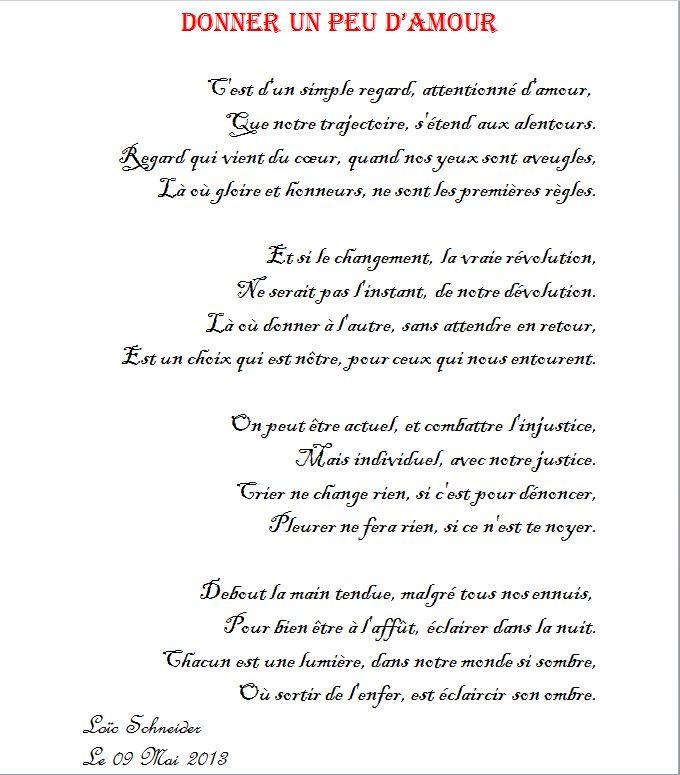 poeme qui denonce