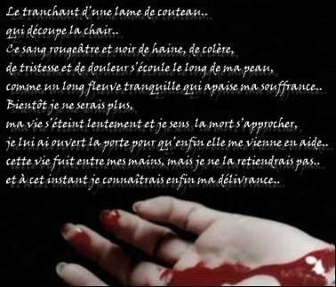 poeme qui parle de la mort