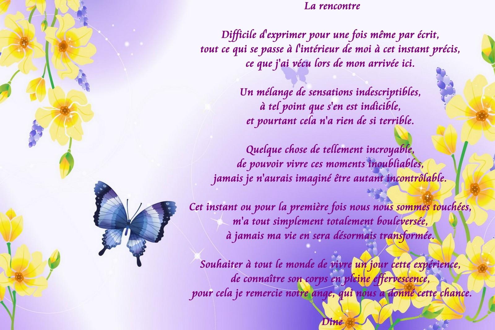 Poeme Rencontre Romantique Rencontre Au Bout Du Monde Avis