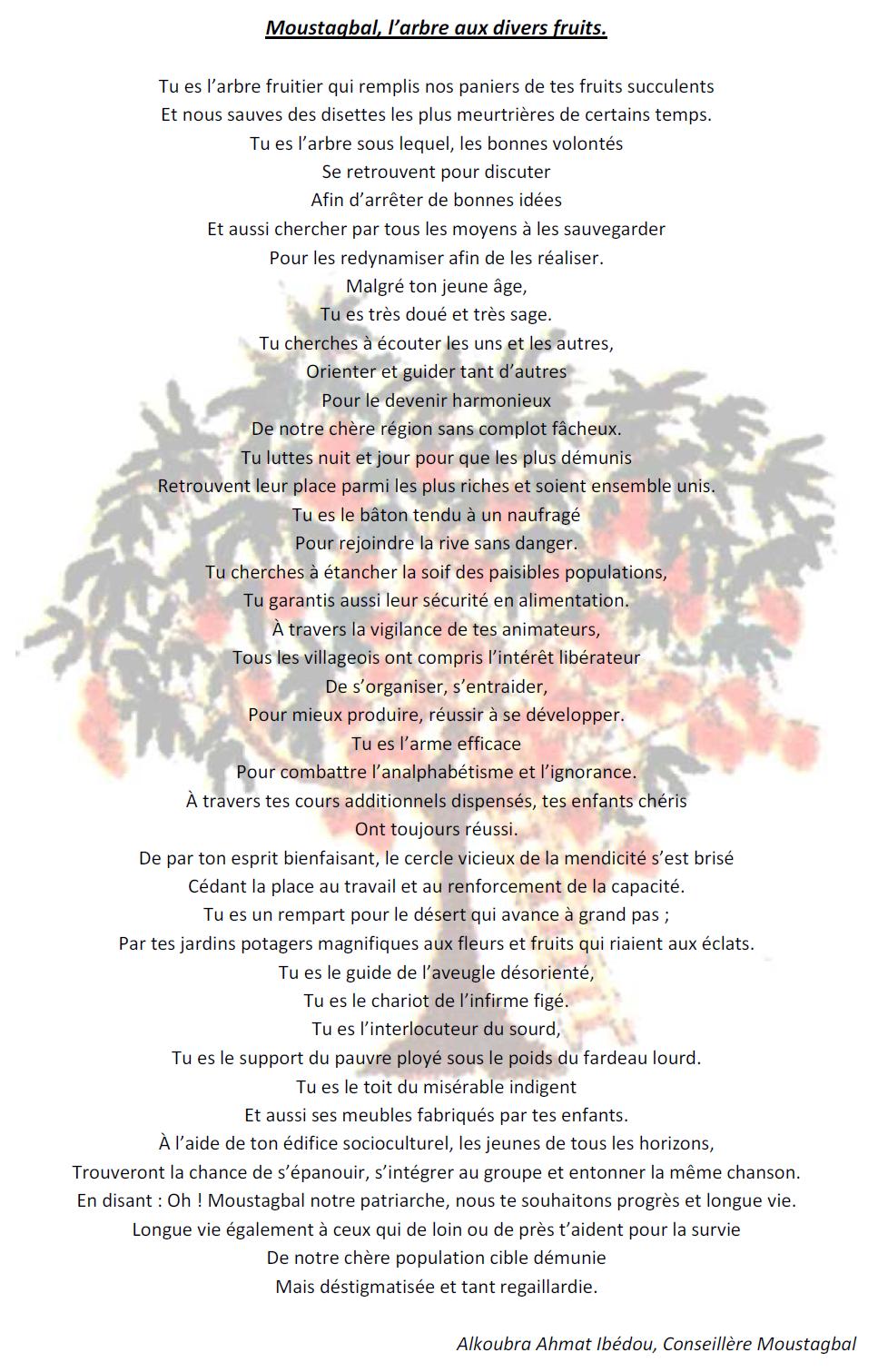 poeme s'entraider