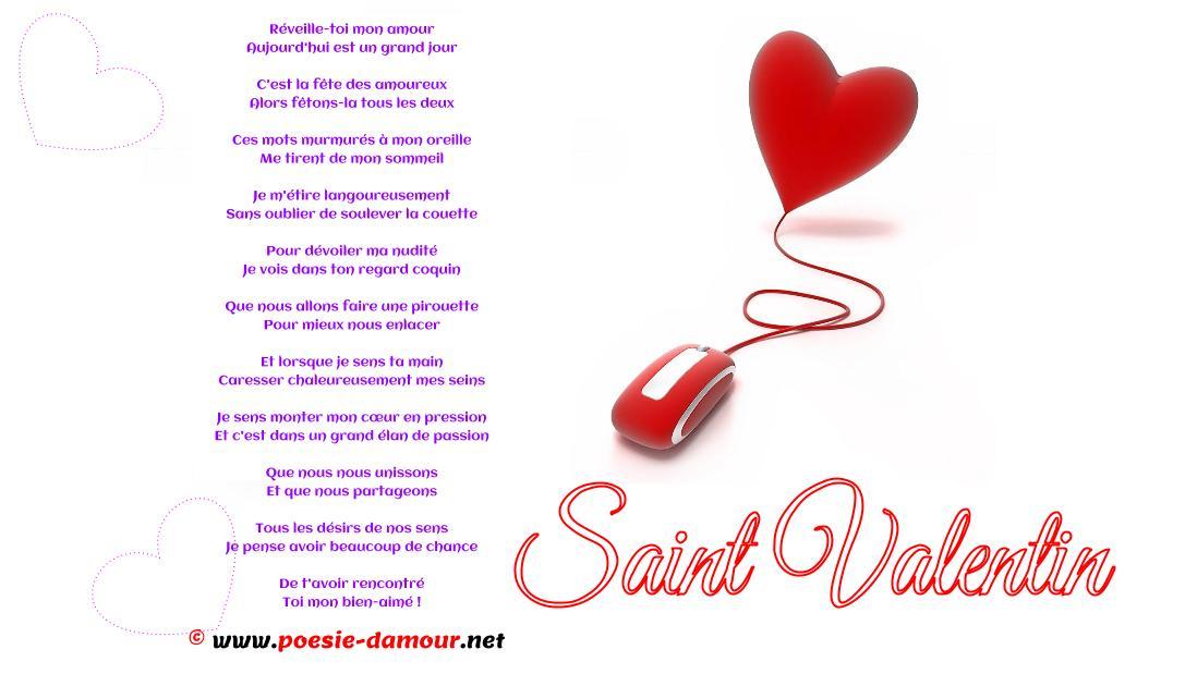poeme st valentin