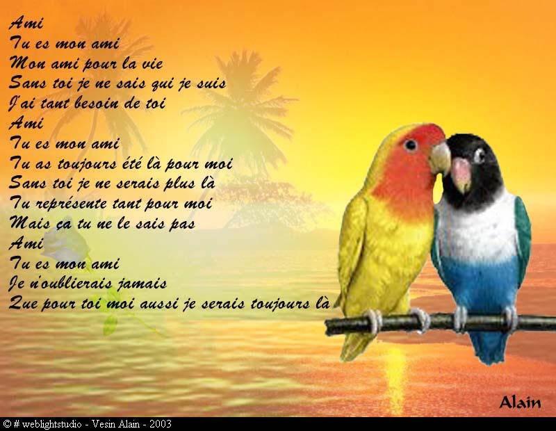 Poeme Sur Une Rencontre Amicale Mmasapl