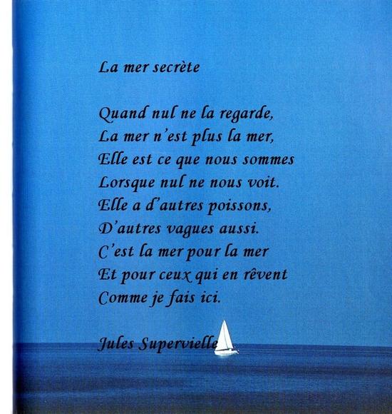 poeme sur la mer