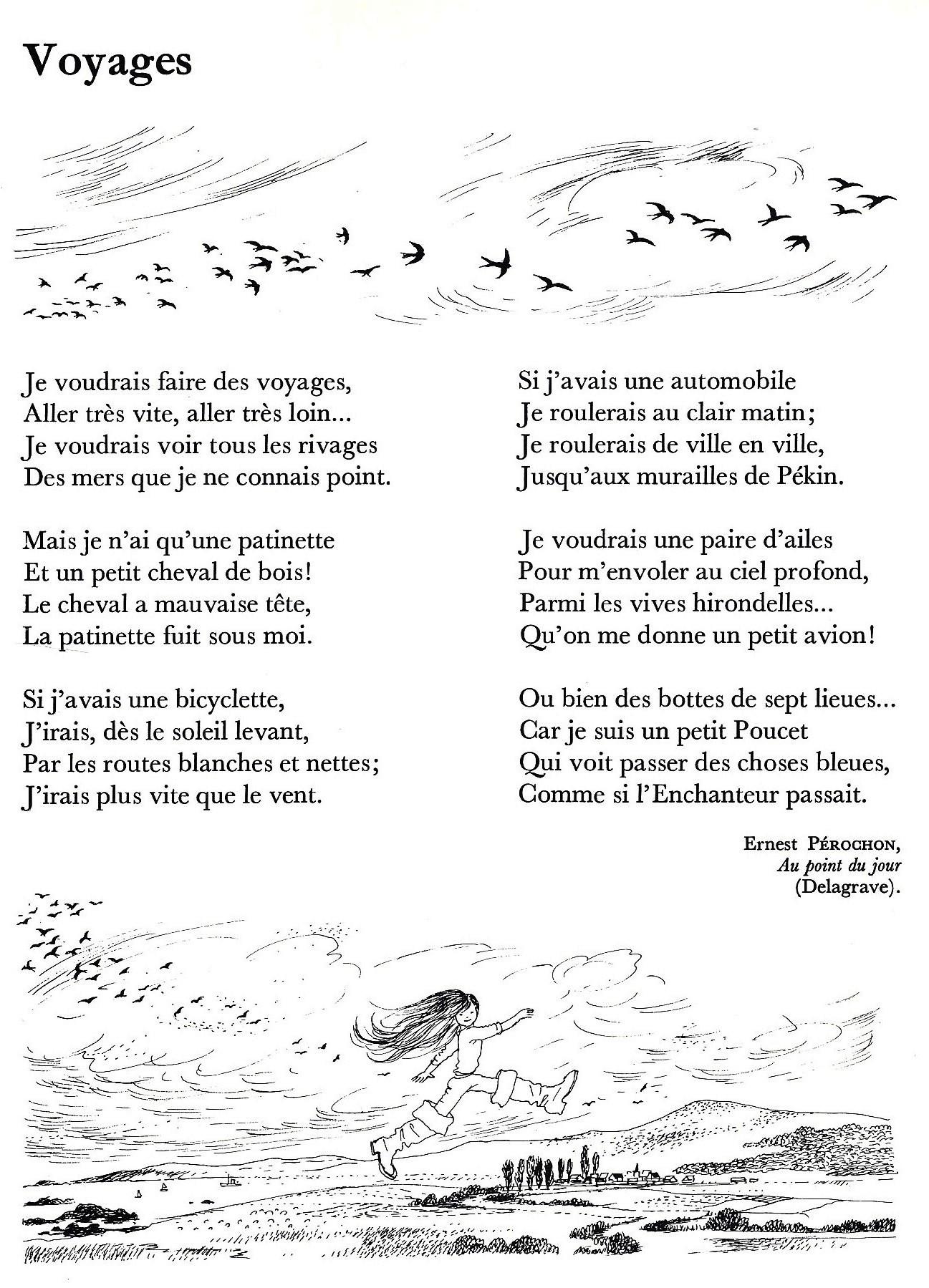 poeme sur le voyage