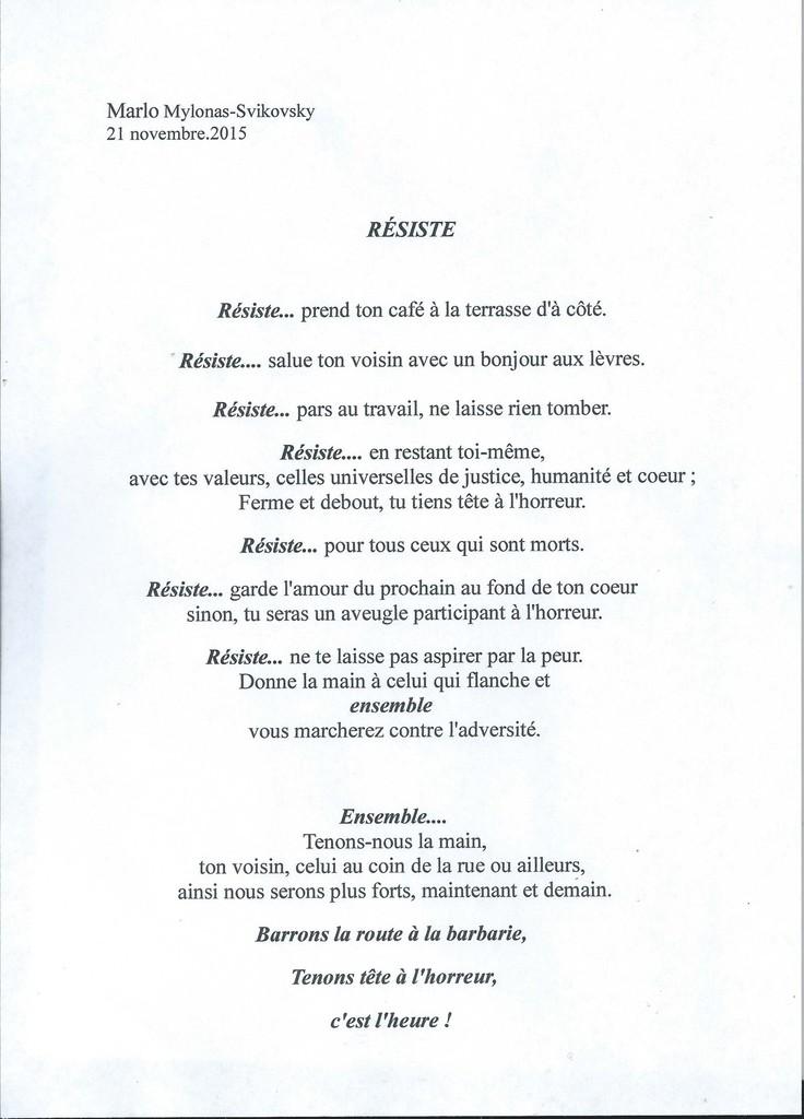 poeme sur paris