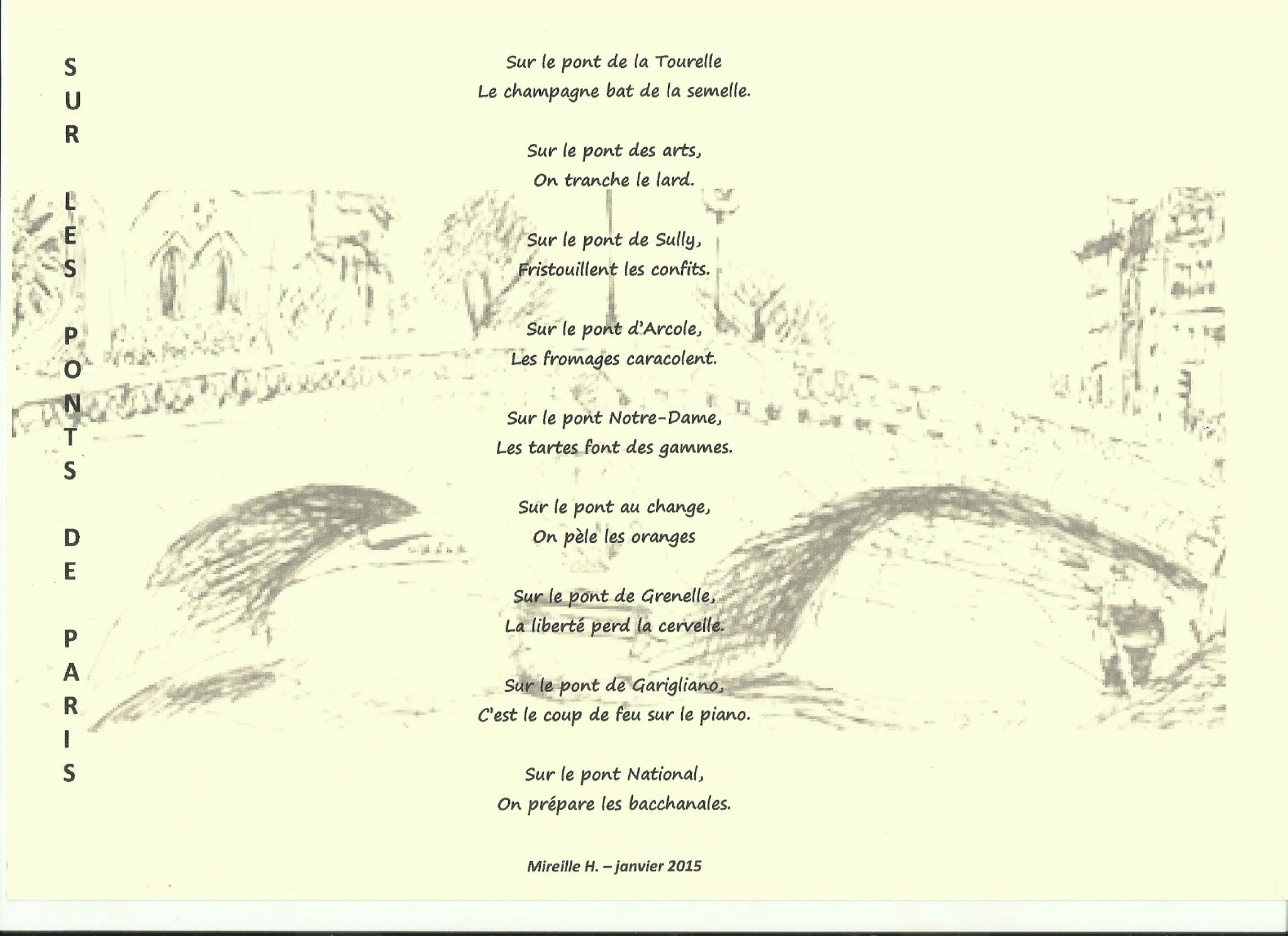 poeme sur notre dame de paris