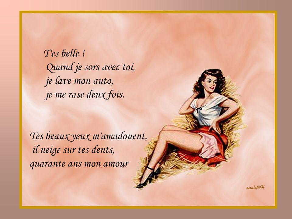 poeme t'es belle