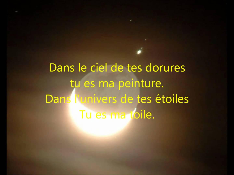 poeme tu es belle