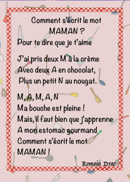 Proverbe Damour Pour Sa Maman Poeme Touchant Pour Maman Court
