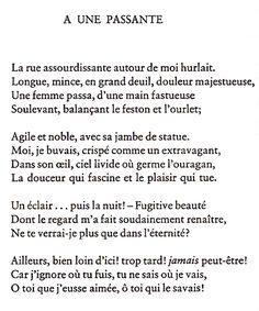 poeme une passante