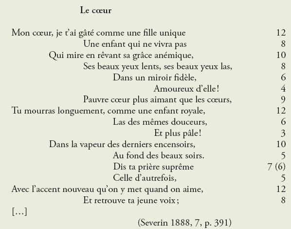 poeme vers libre