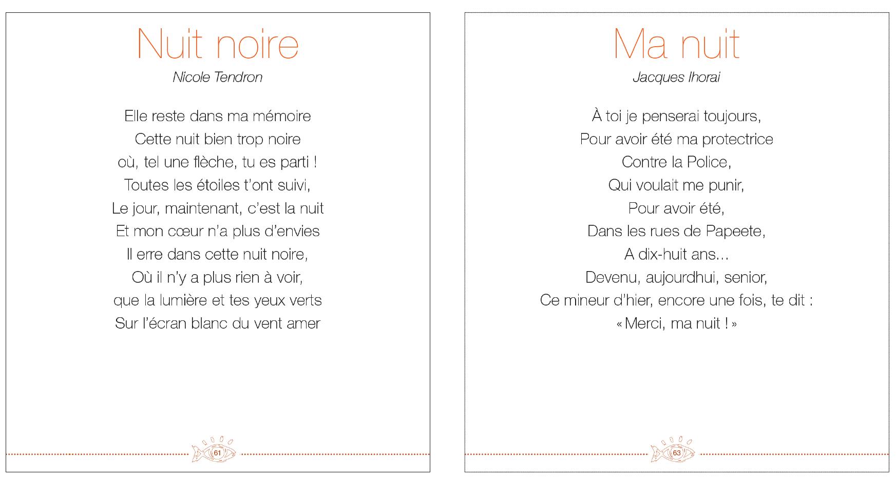 poeme vers