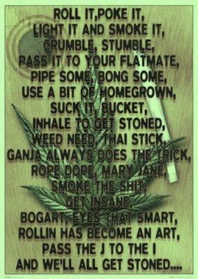 poeme weed