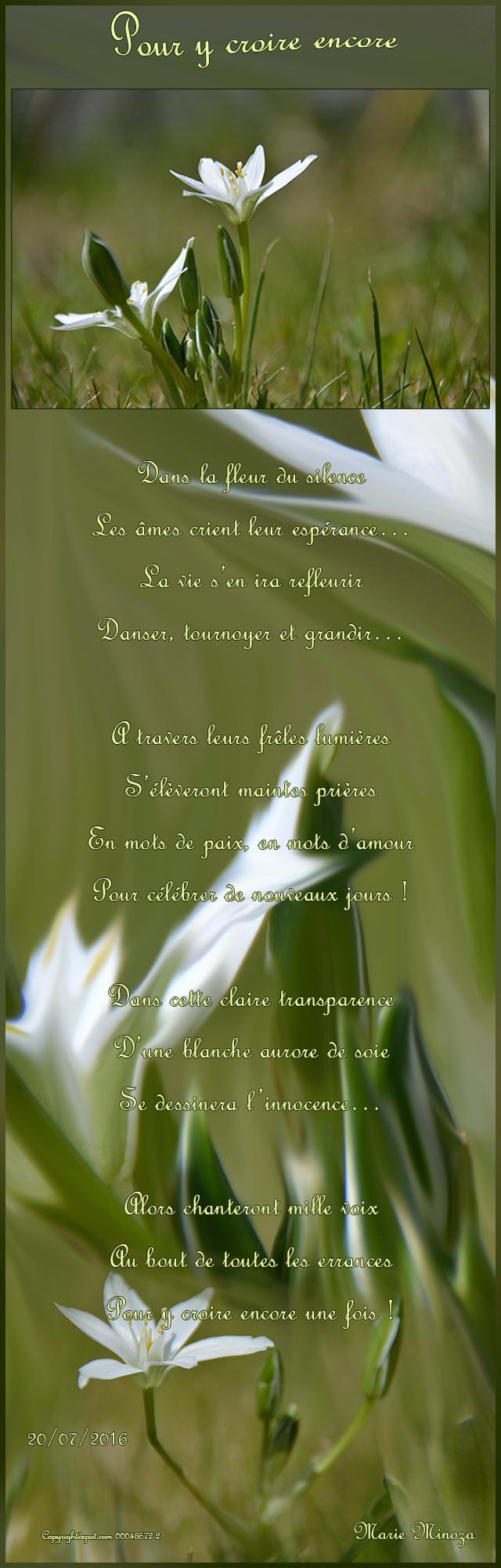 poeme y croire