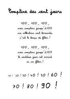 poesie 100 jours