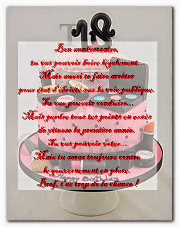 Poesie 18 Ans