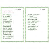 poesie 3 noisettes dans le bois