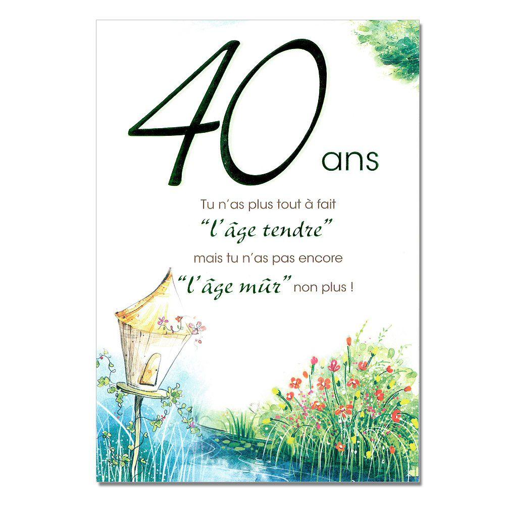 poesie 40 ans