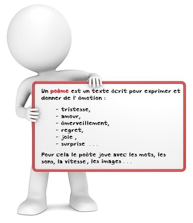 poesie 4eme cours