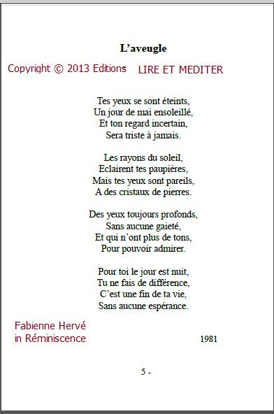 poesie 4eme