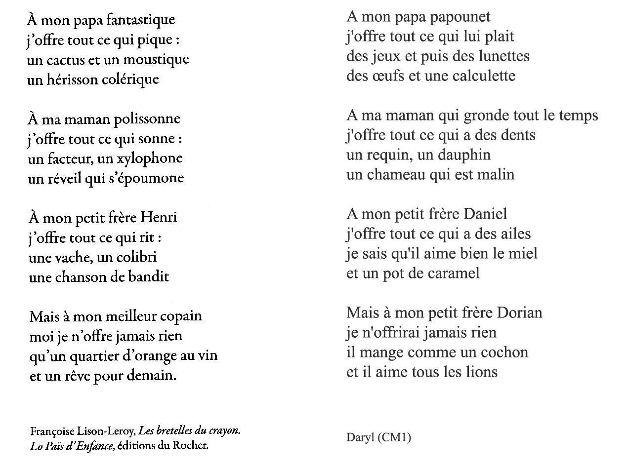 poesie 5 strophes