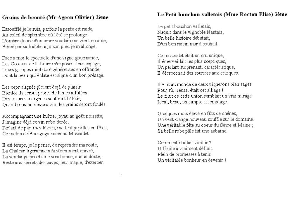 poesie 5 vers